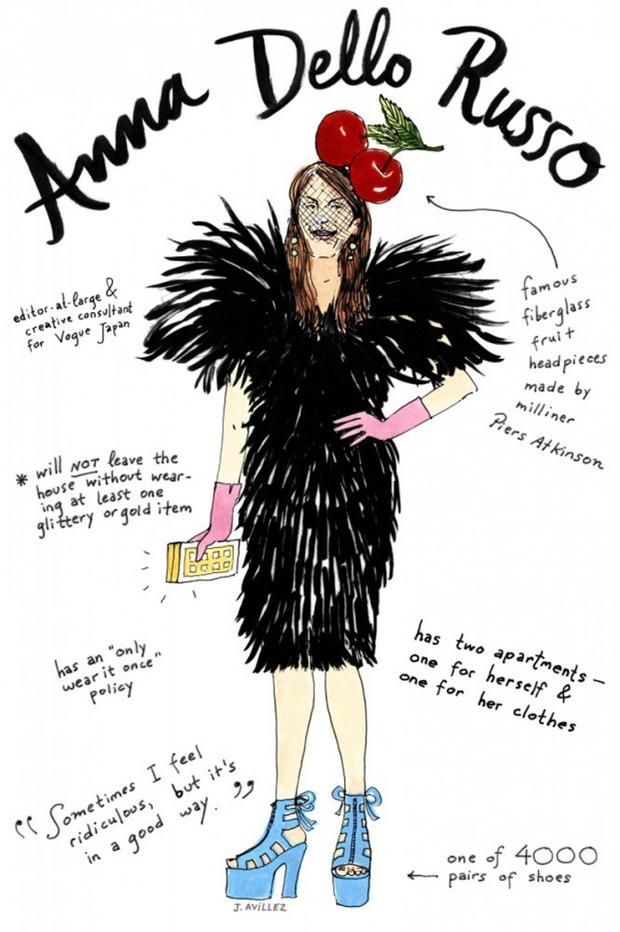 Иллюстрации икон моды от Джоаны Авильес. Изображение № 2.