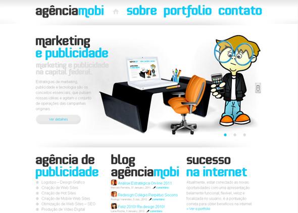Персонажи в дизайне сайтов. Изображение № 30.