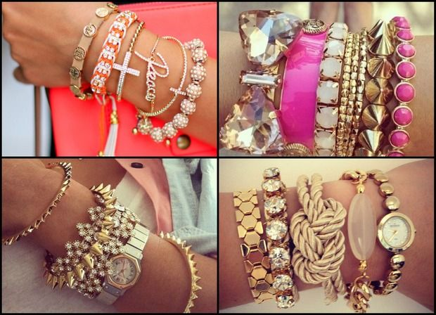 Новый тренд: Arm candy, Arm party или Bracelet stacking. Изображение № 5.