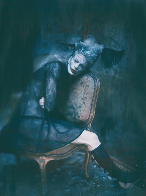 Архивная съёмка: Кристен МакМенами для Vogue Italia, сентябрь 2010. Изображение № 4.