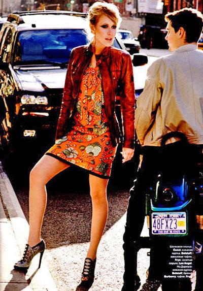 Ксения Собчак штурмует Нью-Йорк наобложке Tatler. Изображение № 3.