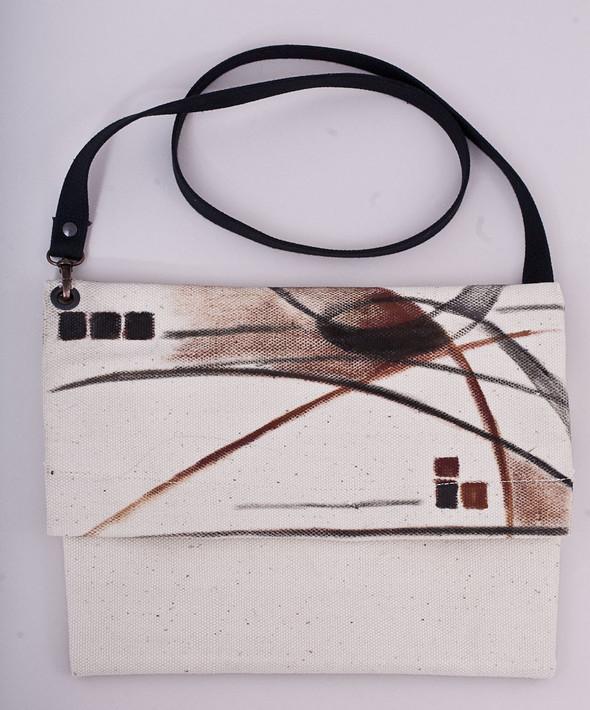 БЕЛОЕ — рюкзаки и сумки из грубого белого хлопка. Изображение № 11.