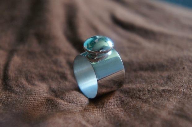 Серебряные, простые украшения. Изображение № 4.