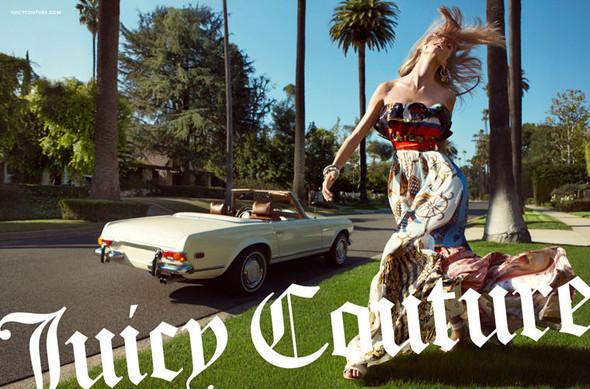 Кампания: Анна Селезнева для Juicy Couture. Изображение № 1.