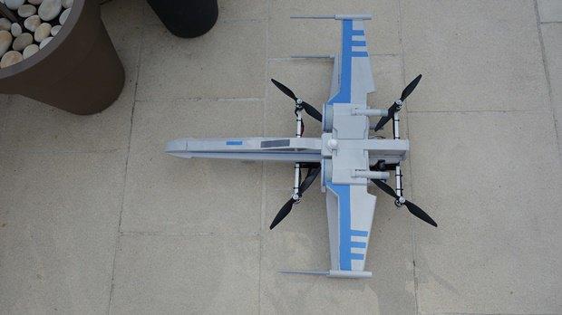 Энтузиаст собрал дрон в виде истребителя X-Wing. Изображение № 16.