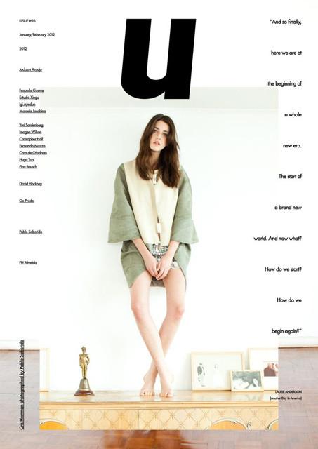 Обложки: i-D, Elle, Purple Fashion и другие. Изображение № 6.