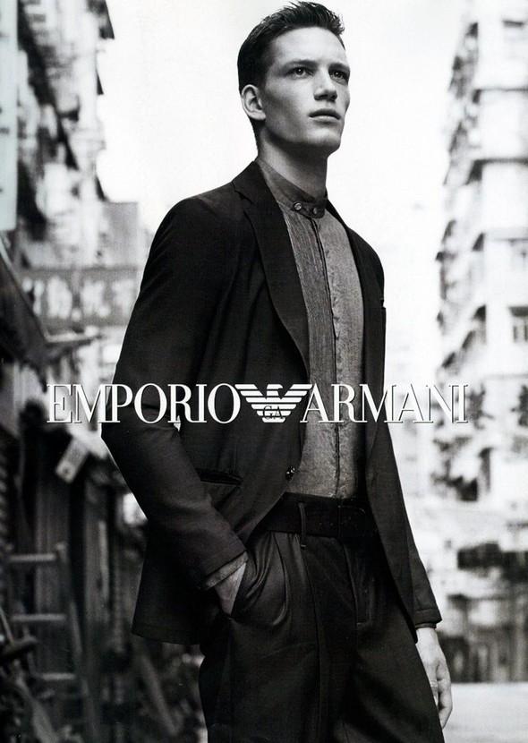 Превью мужских кампаний: Giorgio Armani, Emporio Armani и Bottega Veneta. Изображение № 4.