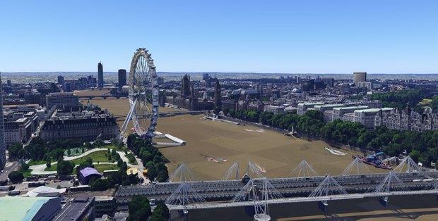В Google Earth появилась 3D-версия Лондона. Изображение № 1.