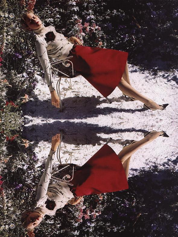 Архивная съёмка: Тим Уокер для Harper's Bazaar, 2000. Изображение № 6.