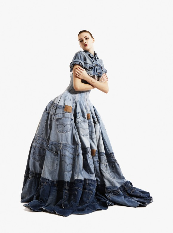 Одежда из мусора от Gary Harvey. Изображение № 1.