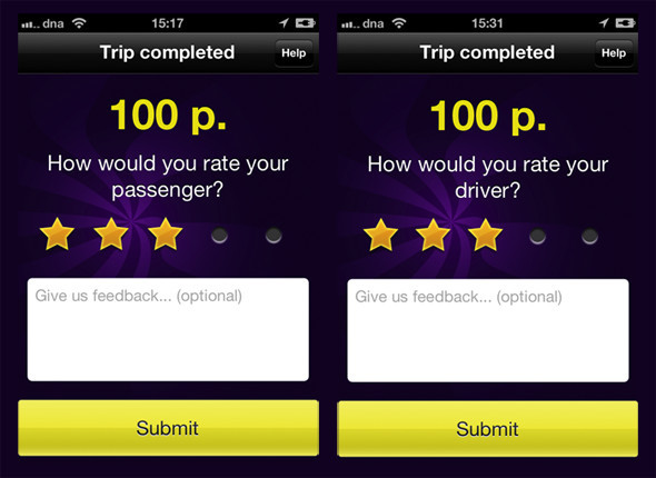 Такси Джет для iPhone – взгляд на рынок услуг такси в будущем. Изображение №4.