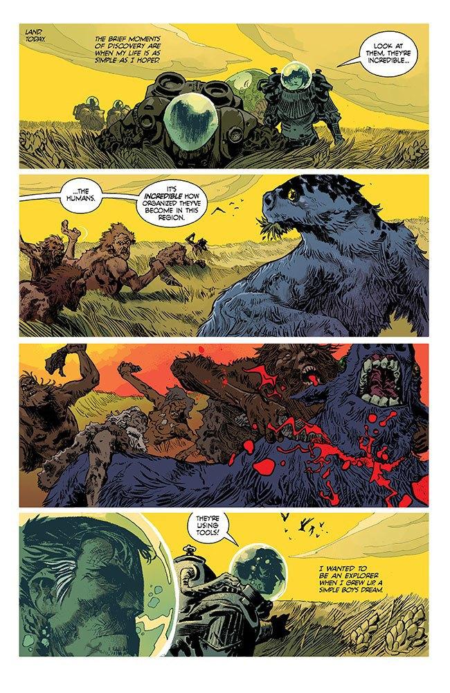 Российский художник Артём Траханов рисует Undertow для Image Comics . Изображение № 1.