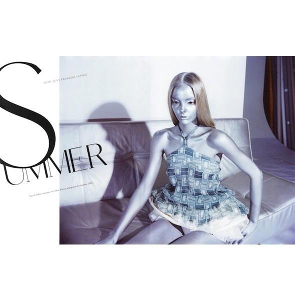 5 новых съемок: Amica, Elle, Harper's Bazaar, Vogue. Изображение № 1.