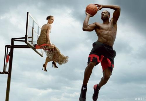 Быстрее, выше, сильнее: Модные съемки, вдохновленные спортом. Изображение №85.