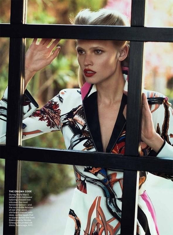 Изображение 48. Съёмки: Harper's Bazaar, Vogue, W и другие.. Изображение № 47.