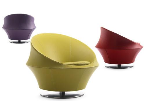 Крутящееся кресло Ophelia от Leolux. Изображение № 3.