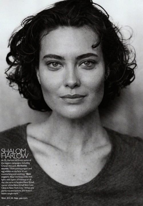 Harper Bazaar USпоказал фотомоделей безмакияжа. Изображение № 9.