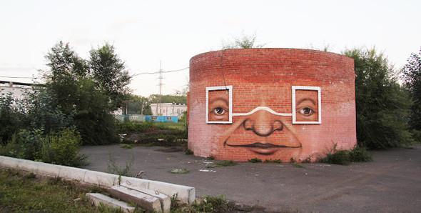 Живой стрит-арт Никиты Nomerz. Изображение № 7.