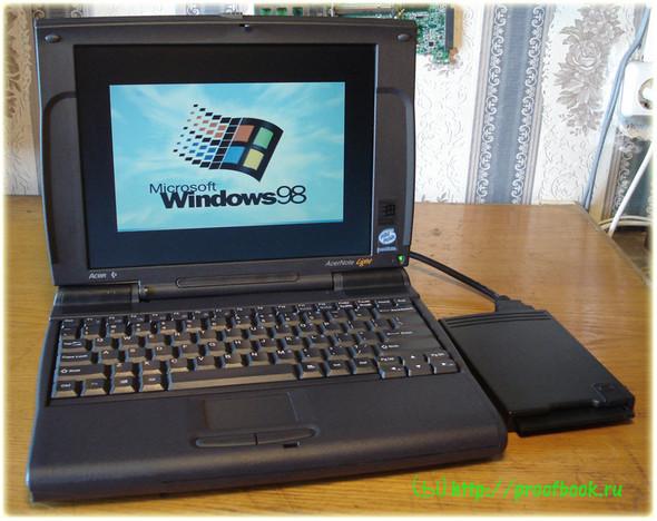 Ретро: Обзор ноутбука AcerNote Light 370DX 1996года. Изображение № 14.
