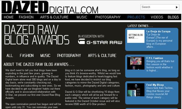 Dazed&Co объявил конкурс блогов. Изображение № 1.