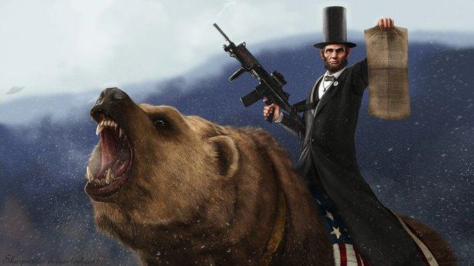 Американские президенты изображены героями игр. Изображение № 3.