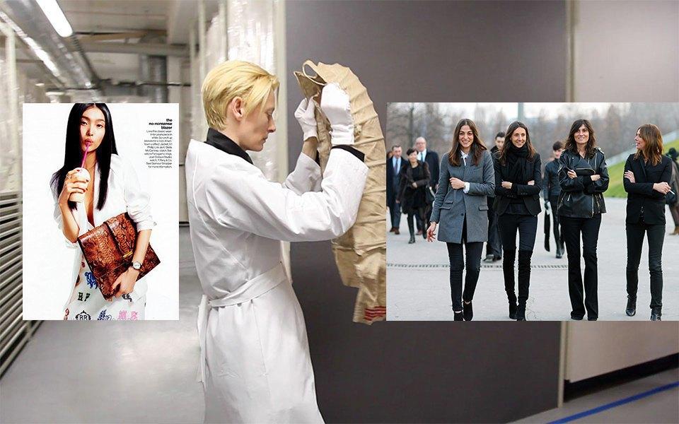 Видео The Impossible Wardrobe с Тильдой Суинтон, француженки, гламур. Изображение № 16.