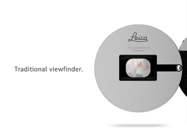 В сети появился концепт мини-камеры Leica с Bluetooth. Изображение № 2.