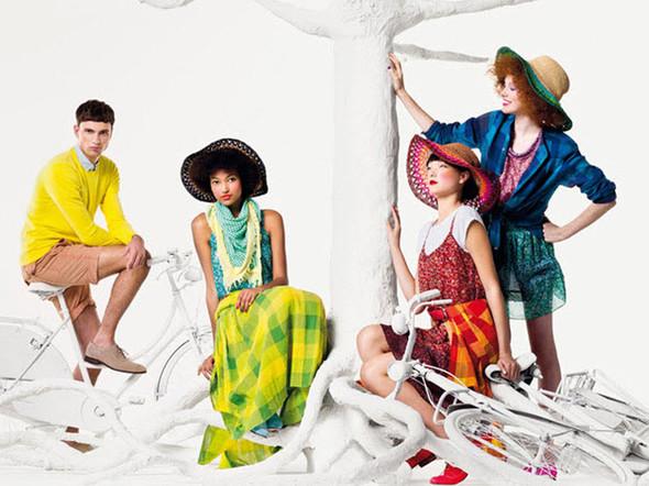 Бирюзовая весна и мандариновое лето в новой коллекции United Colors of. Изображение № 4.