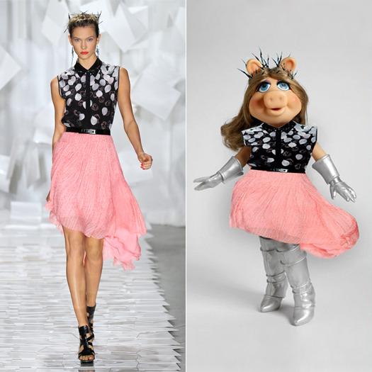 Мисс Пигги - Самая модная свинка мира.. Изображение № 17.