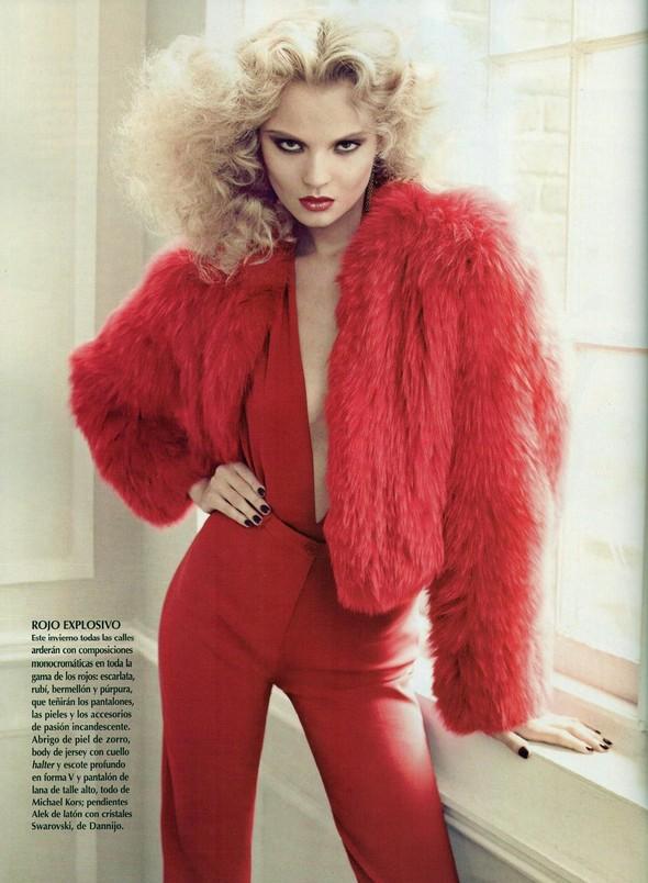 Съёмка: Магдалена Фрацковяк для мексиканского Vogue. Изображение № 3.