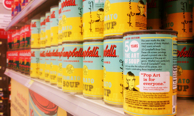 Campbell's выпустил лимитированную серию супов в честь Энди Уорхола. Изображение № 3.
