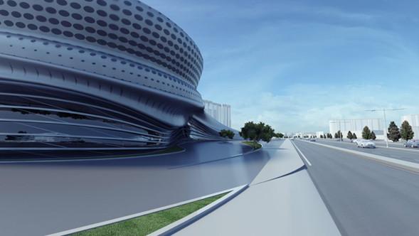 Причудливые формы: необычная архитектура. Изображение № 8.