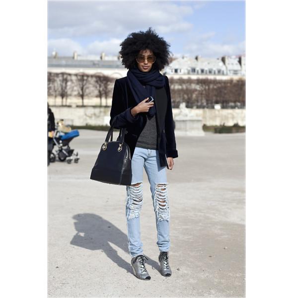 Луки с Недели моды в Париже. Изображение № 74.