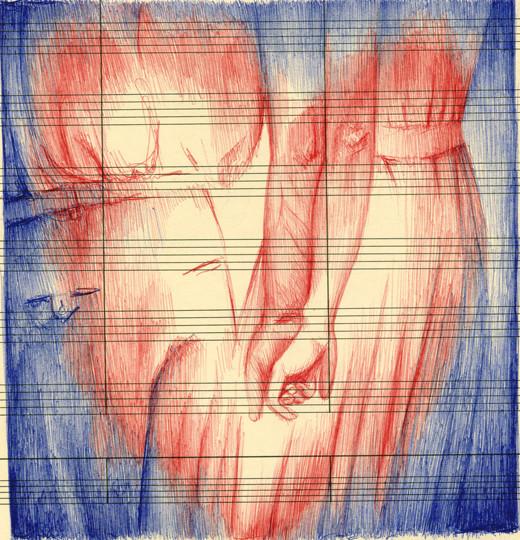В пространстве рисунка: четыре художника. Изображение № 9.