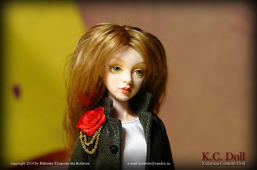 K.C.Doll. Миниатюра на шарнирах. Изображение № 10.