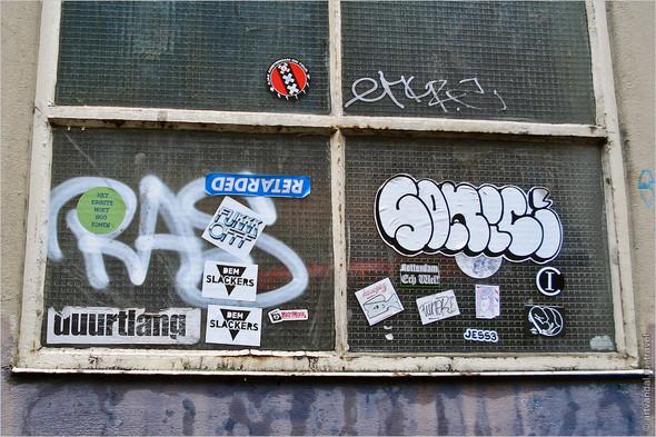 Стрит-арт и граффити Амстердама, Нидерланды. Изображение № 20.
