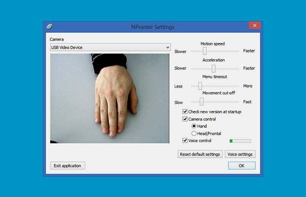 Как управлять компьютером жестами с помощью веб-камеры. Изображение № 5.