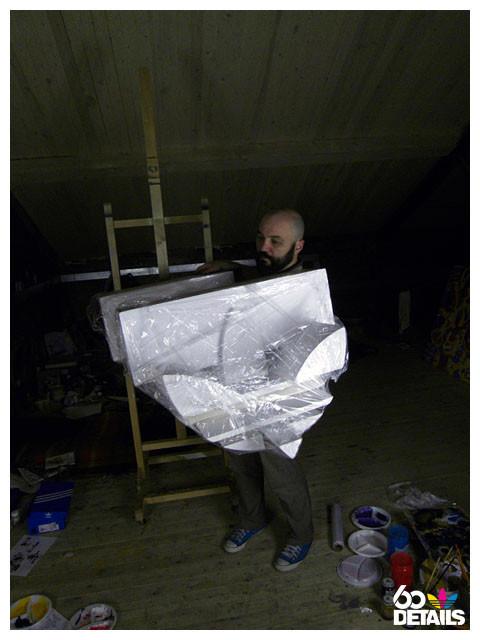 3D sculpture artist: Edik Katykhin (process). Изображение № 2.