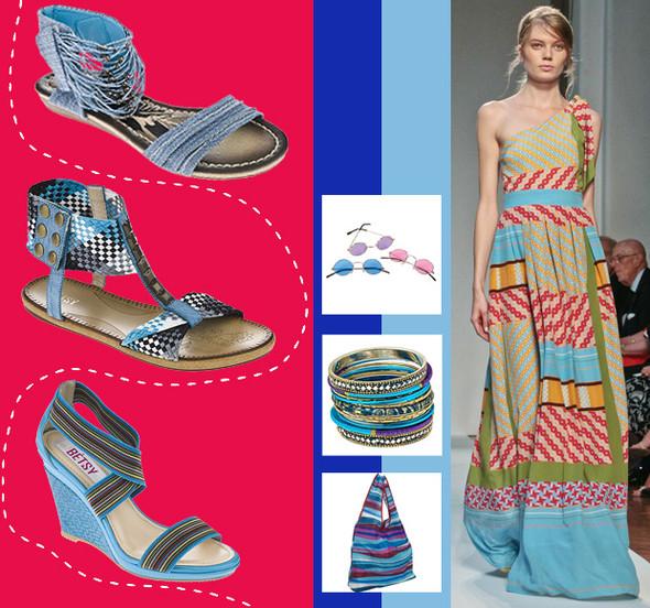 Тренды «Весна-Лето 2012»: синие сумерки High Street. Изображение № 1.