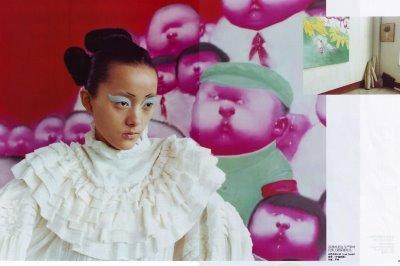 Сила искусства – China Vogue, June 2008. Изображение № 2.
