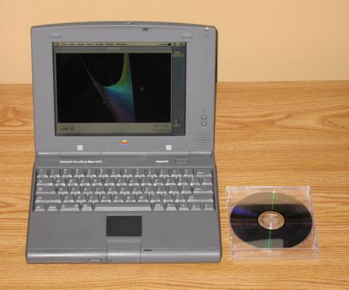 Эволюция дизайна ноутбуков apple 1989 – 2008. Изображение № 3.