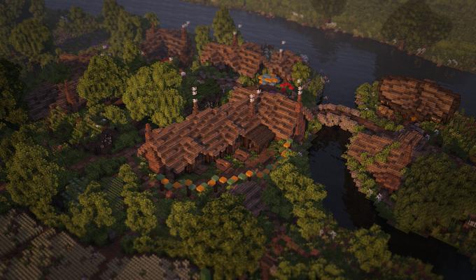В Minecraft собрали Шир из «Властелина Колец» . Изображение № 5.