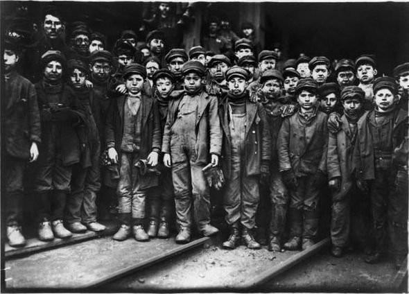 Эксплуатации детского труда в Америке (1910 год).И эмигранты США. Изображение № 16.