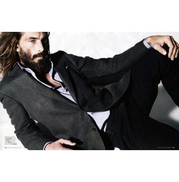 Изображение 16. Новые мужские съемки: Vogue Hommes, GQ и другие.. Изображение № 25.