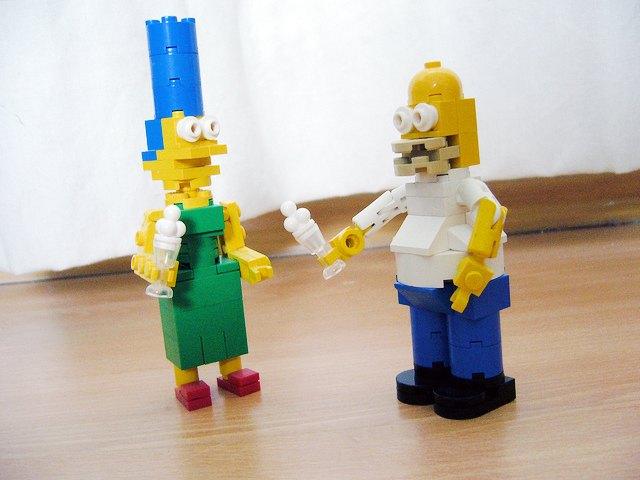 Симпсоны станут героями Lego. Изображение № 1.