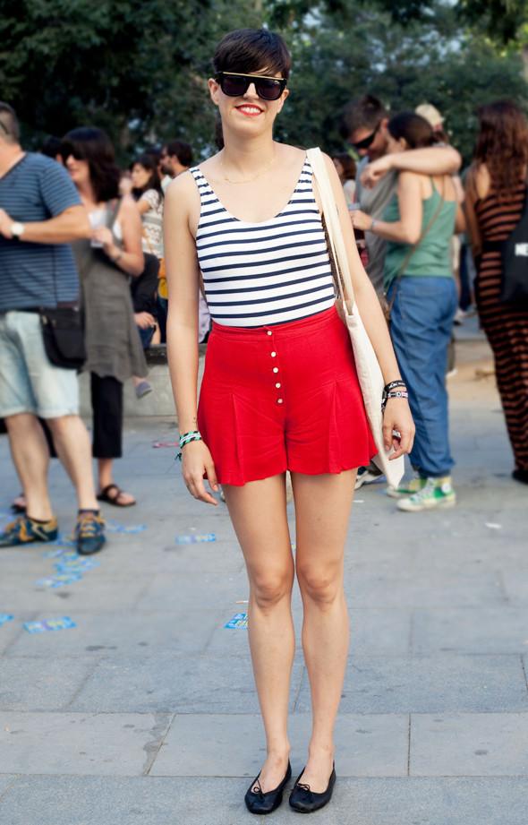 Пестрые рубашки и темные очки: Посетители фестиваля Sonar 2012. Изображение № 29.