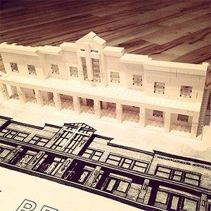 Архитекторы тестируют новый конструктор LEGO Architecture Studio. Изображение № 16.