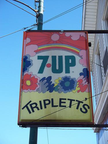Графика 70-х thegreat hippie 7Up. Изображение № 18.