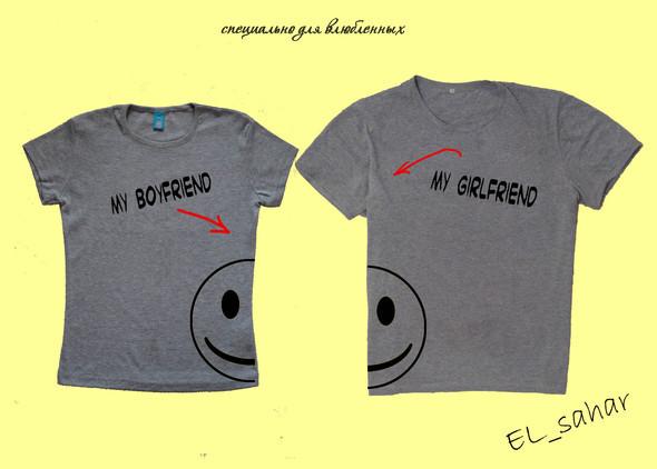 Elsaharova: половинчатые футболки на 14 февраля. Изображение № 9.