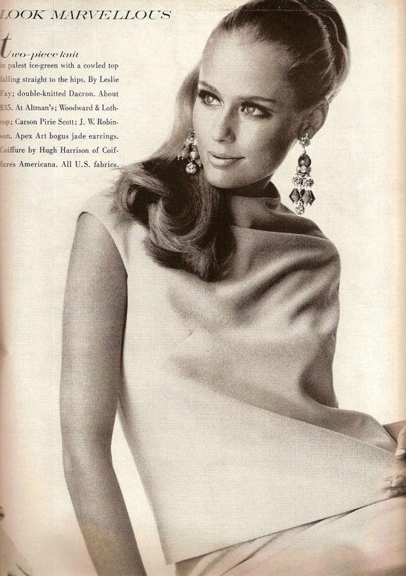 «Выгляди великолепно» каквVogue 1967 года. Изображение № 16.
